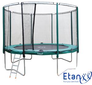 Etan Premium trampolina 11 Set – s uključenom mrežom